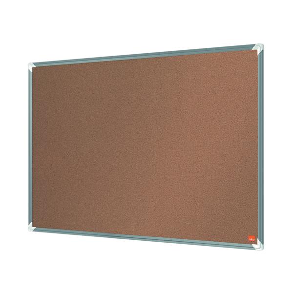 Cork Nobo Premium Plus Cork Notice Board 1200 x 900mm 1915181