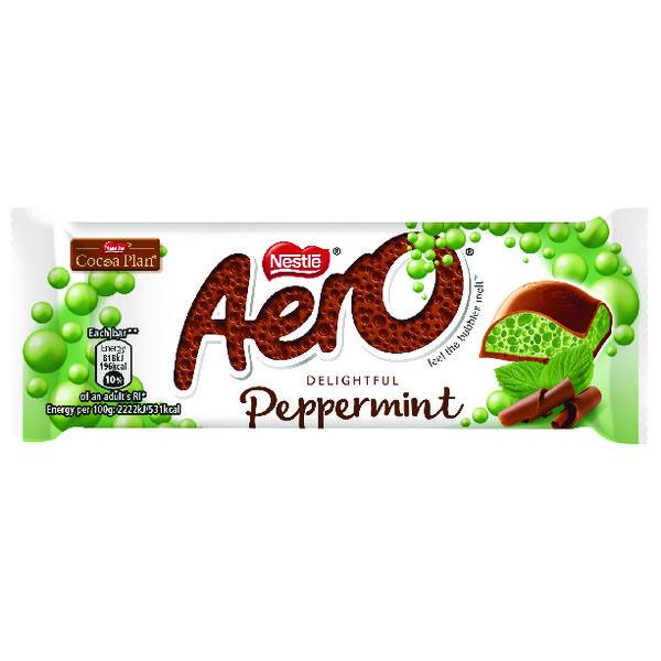 Nestle Aero Peppermint Bar 36g (24 Pack) 12351224