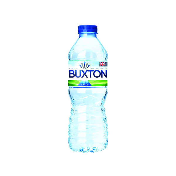 Cold Drinks Buxton Still Mineral Water 50cl Plastic Bottles (24 Pack) 12020200