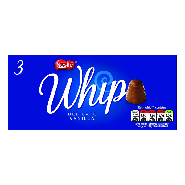 Nestle Whip Vanilla 27.8g (3 Pack) 12339770