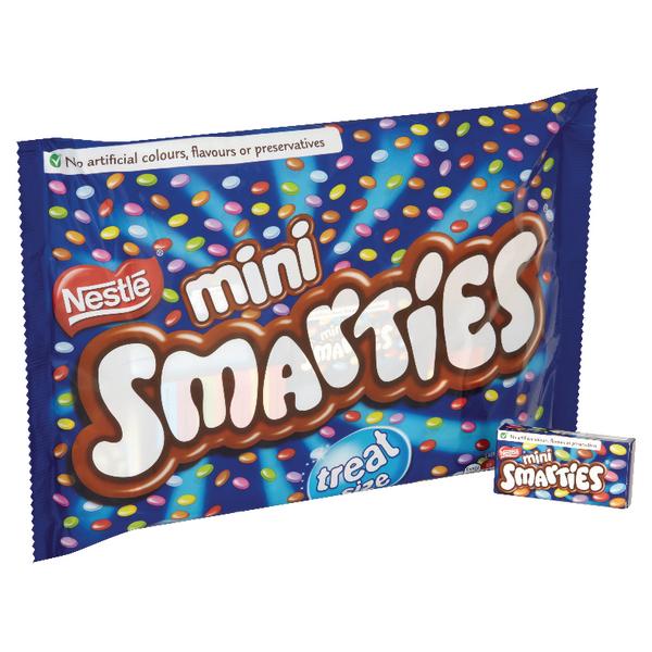 Nestlé Mini Smarties Boxes Treatsize Multipack 260g