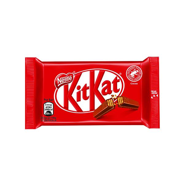 Nestle KitKat Four Finger Milk Chocolate (24 Pack) 12351222