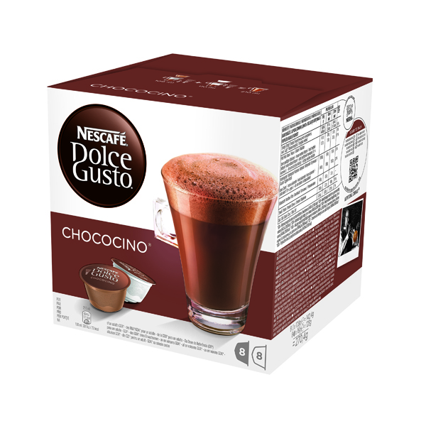 Hot Chocolate Nescafe Dolce Gusto Chocolate Capsules (48 Pack) 12311711