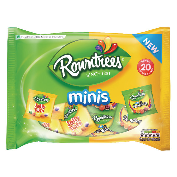 Rowntrees Minis Jelly Tots and Randoms Multipack 300g