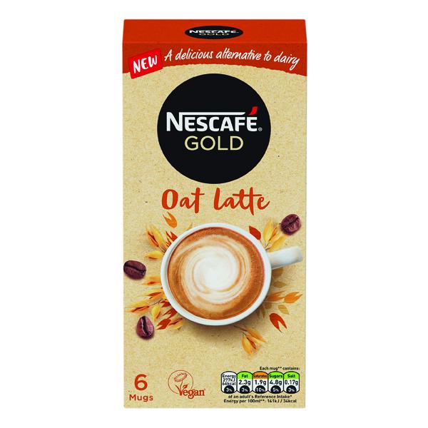 Coffee Nescafe Gold Oat Latte 16g (30 Pack) 12429920