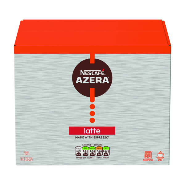 Coffee Nescafe Azera Latte Sachets (35 Pack) 12366623