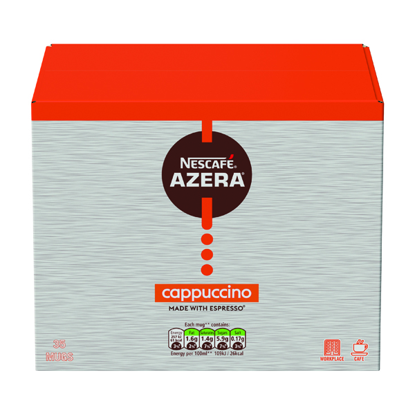 Nescafe Azera Cappuccino Sachets (35 Pack) 12366624