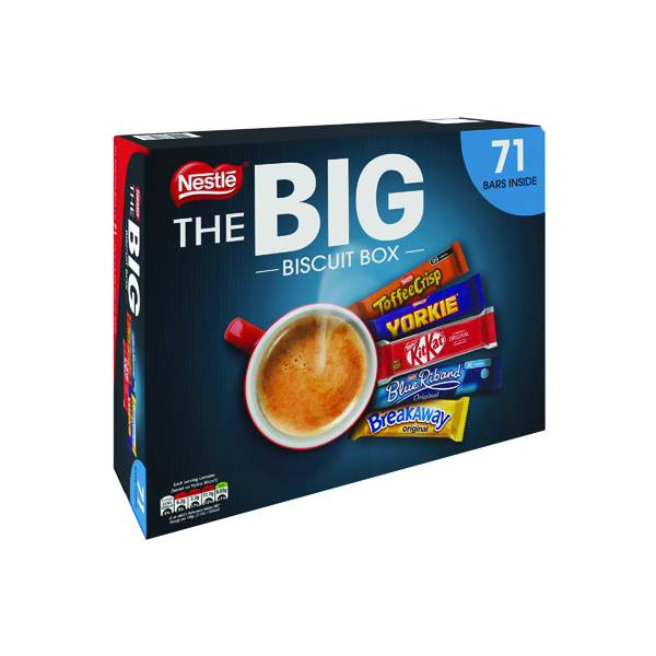 Biscuits Nestle Big Biscuit Box 71 Bars 12391006