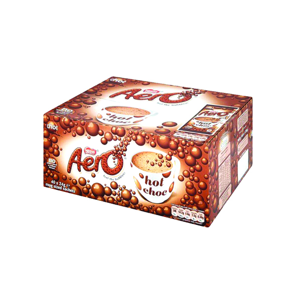 Hot Drinks Nestle Aero Hot Drinking Chocolate 24g (40 Pack) 12203209