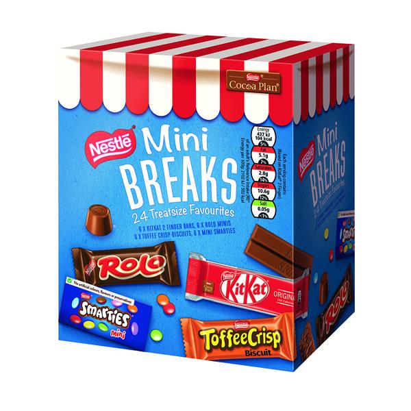 Nestle Mini Breaks 24 Mixed Selection 416g 12369978