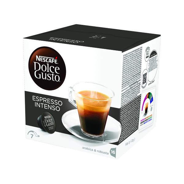 Nescafe Dolce Gusto Espresso Intenso Capsules (48 Pack) 12386552