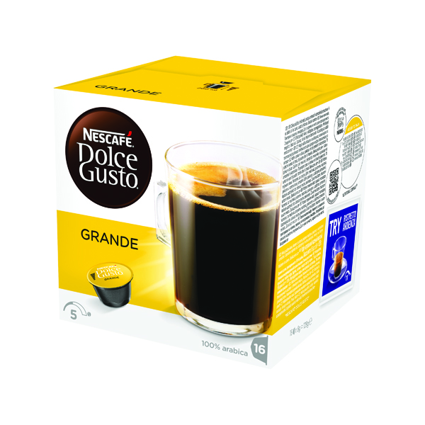 Nescafe Dolce Gusto Grande Capsules (48 Pack) 12181434