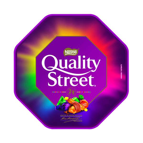 Unspecified Nestle Quality Street Tub 650g 137817