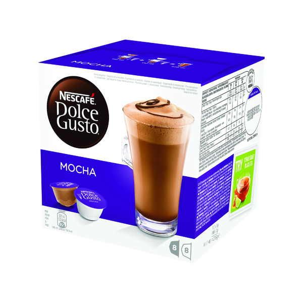 Nescafe Dolce Gusto Mocha Capsules (48 Pack) 12184860