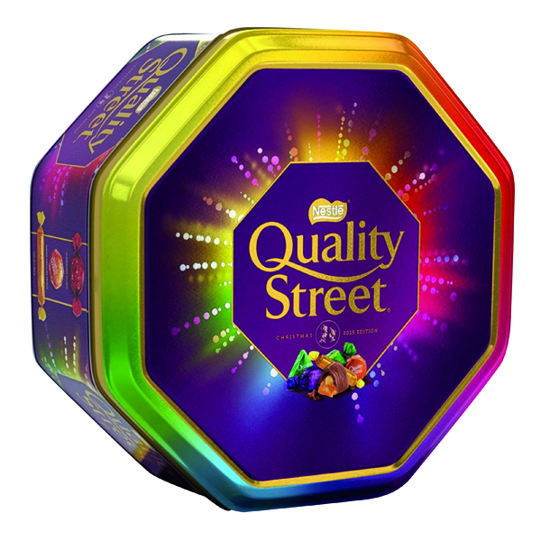 Unspecified Nestle Quality Street Tin 1kg 12394801