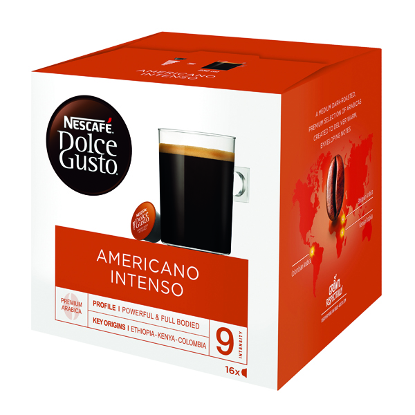 Nescafe Dolce Gusto Americano Intenso Capsules (48 Pack) 12372154