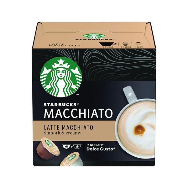 Coffee Nescafe Dolce Gusto Starbucks Latte Macchiato Capsules (36 Pack) 12397696