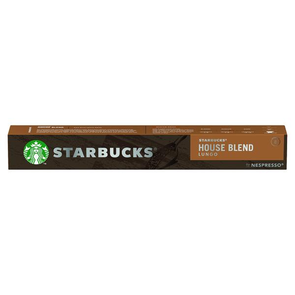 Coffee Nespresso Starbucks House Blend Lungo Coffee Pods (10 Pack) 12423278