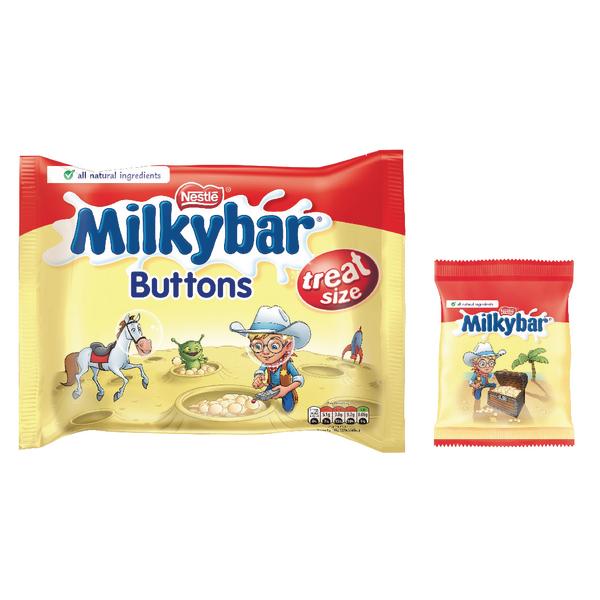 Nestlé Milkybar Buttons Treatsize Multipack 189g