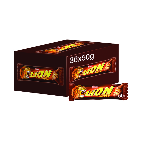 Nestle Lion Bar 50g (36 Pack) 12220743