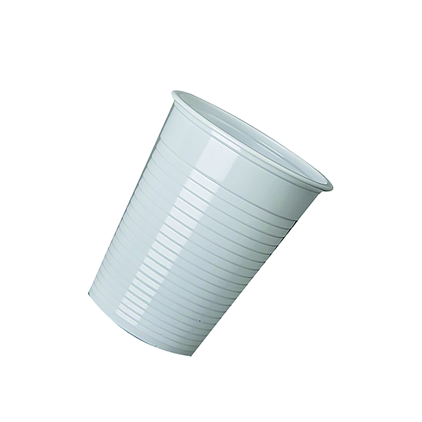 MyCafe Plastic Disposable Cups 7oz White (2000 Pack) DVPPWHCU02000
