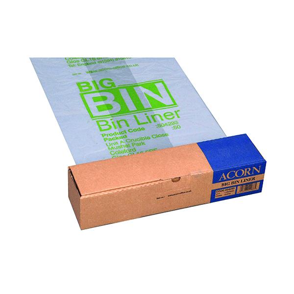 Acorn Big Bin Liner (50 Pack) 504293