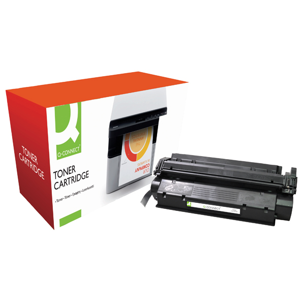 Black Q-Connect Compatible Solution HP 15X Black Laserjet Toner Cartridge High Capacity C7115X