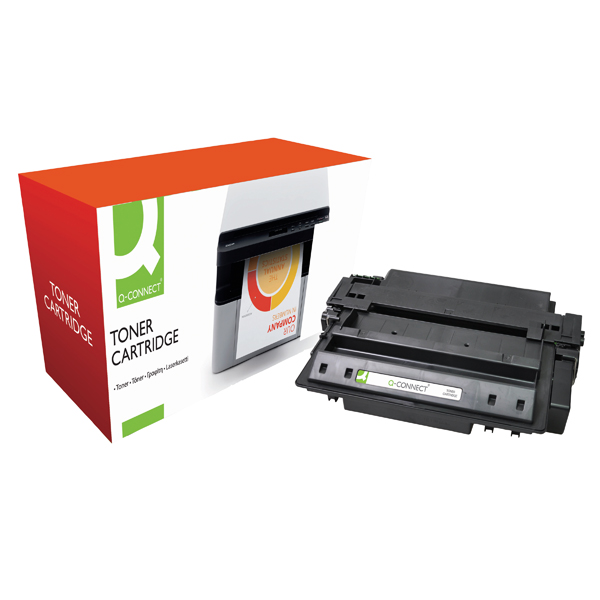 Black Q-Connect Compatible Solution HP 51X Black Laserjet Toner Cartridge High Capacity Q7551X
