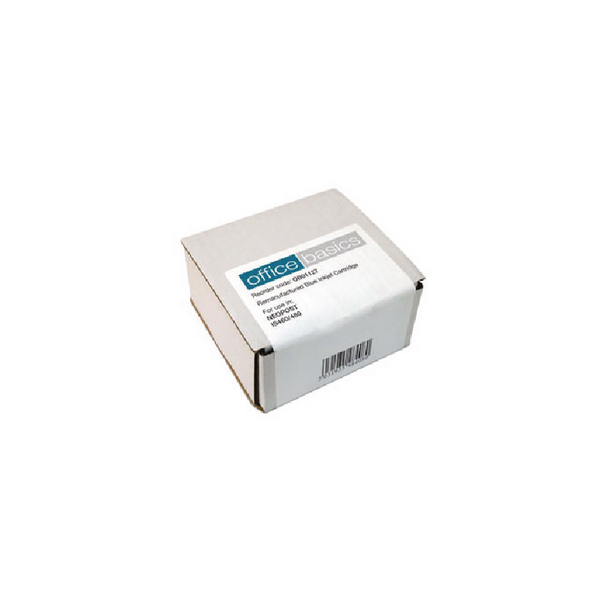 Colour Q-Connect Neopost Reman Blue Franking Ink Cartridge High Yield 300621
