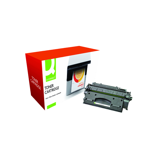 Black Q-Connect Compatible Solution Canon 719 Toner Cartridge HY 3480B002AA Black 3480B002AA