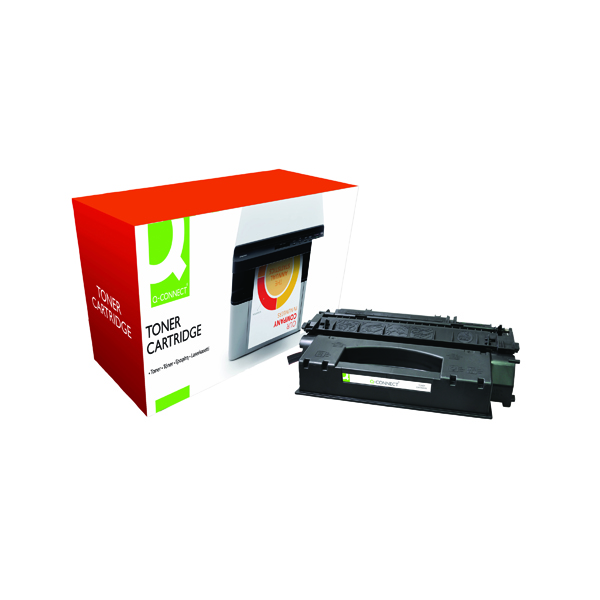 Black Q-Connect Compatible Solution HP 49X Black Toner Cartridge High Capacity Q5949X
