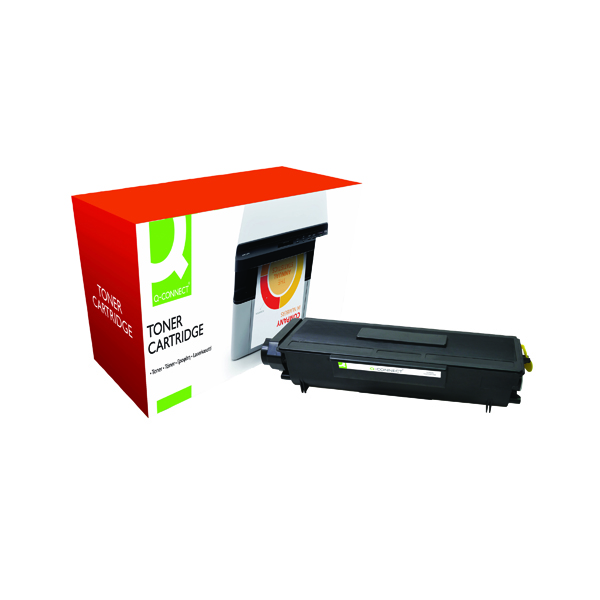Black Q-Connect Compatible Solution Brother Black Toner Cartridge High Capacity TN3170