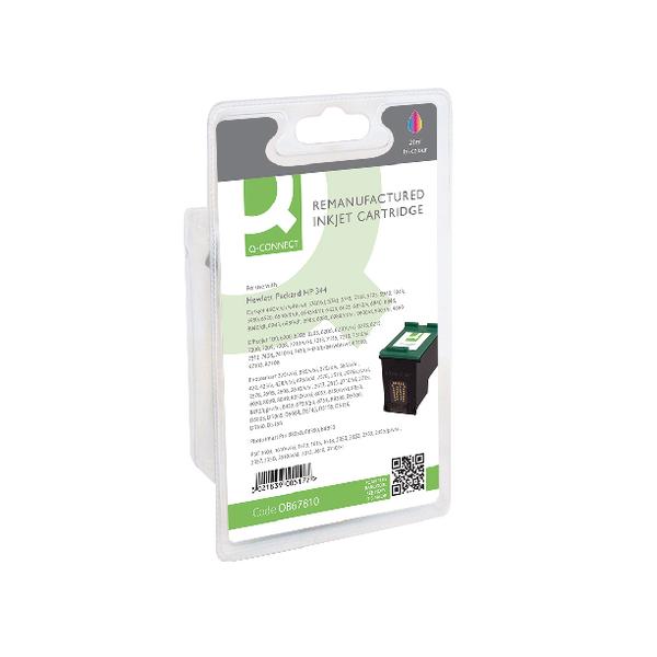 Colour Q-Connect HP 344 Reman Colour Inkjet Cartridge C9363EE