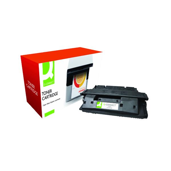 Black Q-Connect Compatible Solution HP 27X Black Laserjet Toner Cartridge High Capacity C4127X