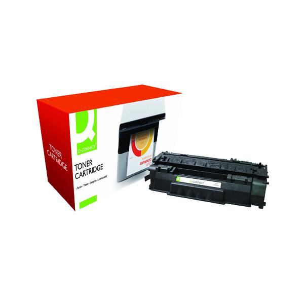 Black Q-Connect Compatible Solution HP 49A Black Laserjet Toner Cartridge Q5949A