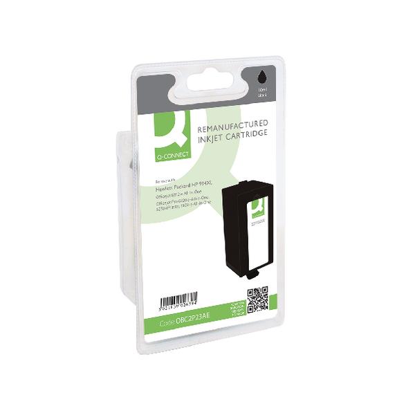 Black Q-Connect HP 934XL Black Inkjet Cartridge C2P23AE