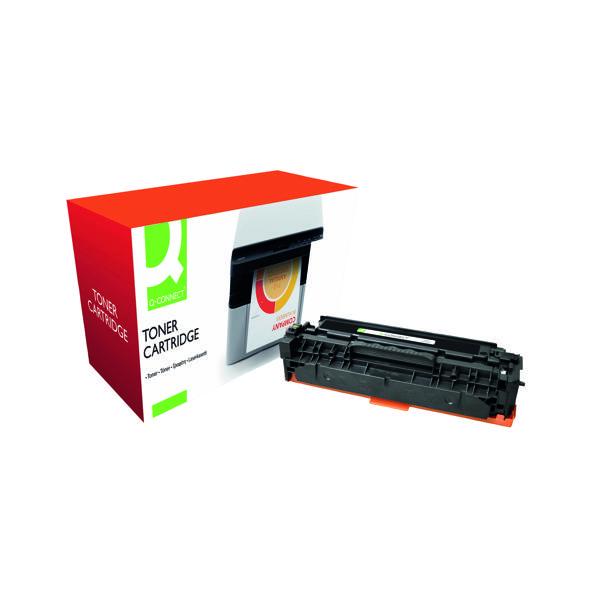 Black Q-Connect Compatible Solution Canon 718Bk Black Toner Cartridge 2662B002