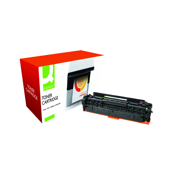 Magenta Q-Connect Compatible Solution Canon 718M Magenta Toner Cartridge 2660B002