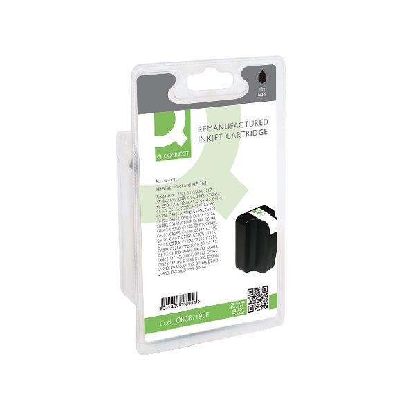 Q-Connect HP 363XL Reman Black High Yield Inkjet Cartridge C8719EE