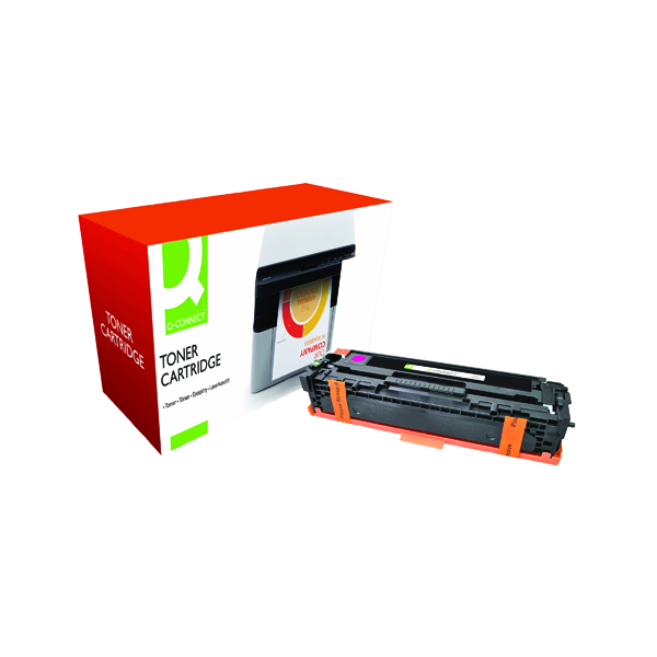 Magenta Q-Connect Compatible Solution HP 125A Magenta Laserjet Toner Cartridge CB543A