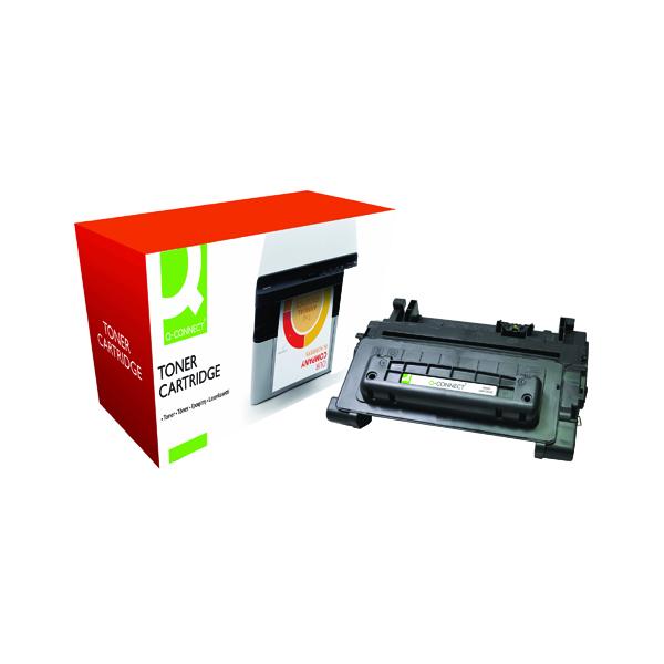Black Q-Connect Compatible Solution HP 64A Black Laserjet Toner Cartridge CC364A