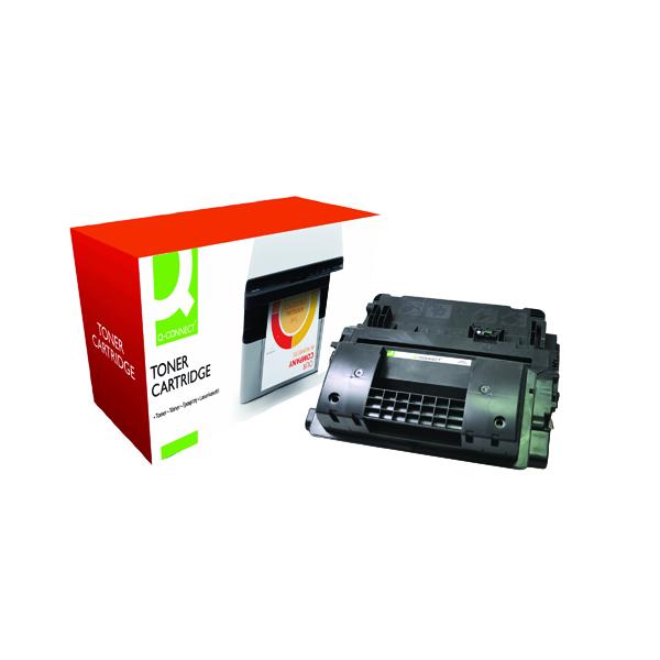 Black Q-Connect Compatible Solution HP 64X Black Laserjet Toner Cartridge High Capacity CC364X