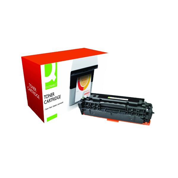 Black Q-Connect Compatible Solution HP 304A Black Laserjet Toner Cartridge CC530A
