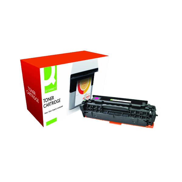 Magenta Q-Connect Compatible Solution HP 304A Magenta Laserjet Toner Cartridge CC533A