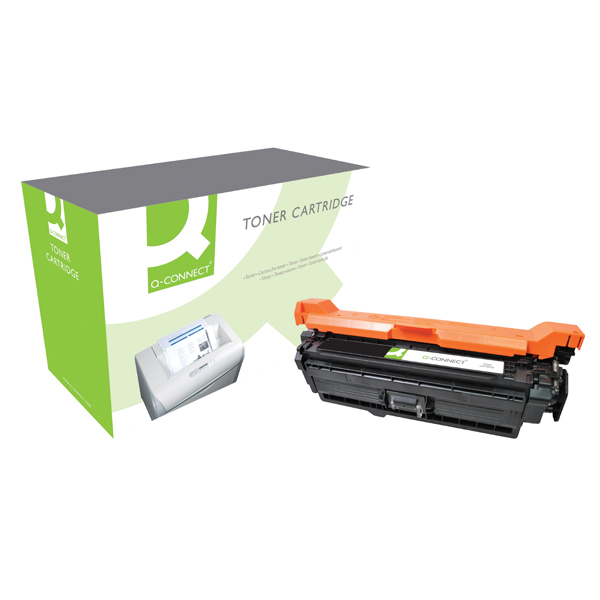 Q-Connect Compatible Solution HP 504X Black Laserjet Toner Cartridge High Capacity CE250X
