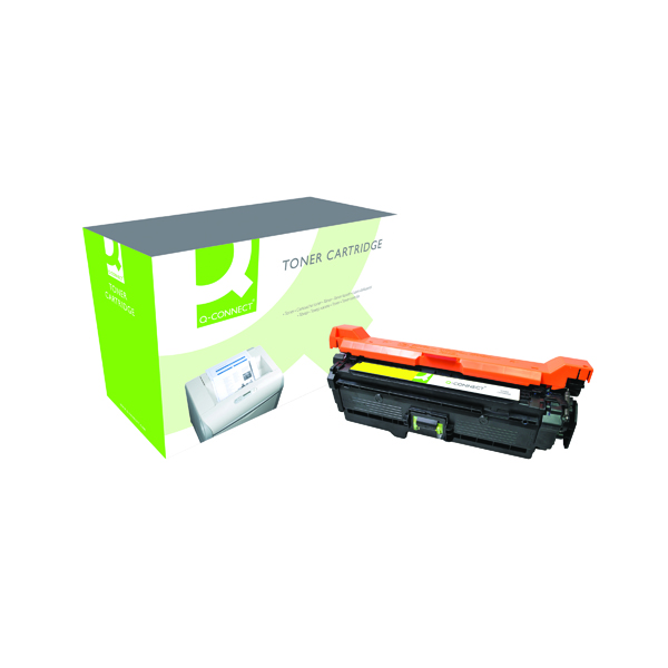 Q-Connect Compatible Solution HP 504A Yellow Laserjet Toner Cartridge CE252A