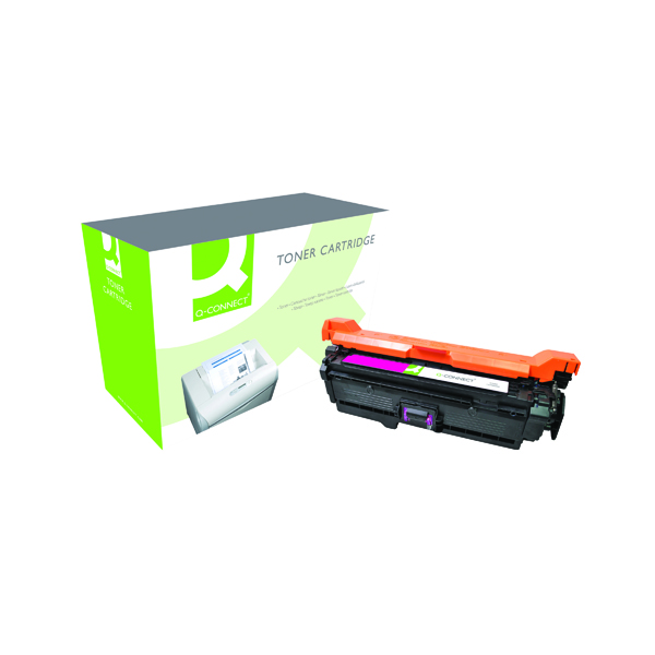 Magenta Q-Connect Compatible Solution HP 504A Magenta Laserjet Toner Cartridge CE253A