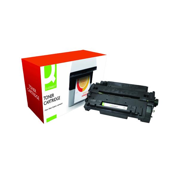 Q-Connect Compatible Solution HP 55A Black Laserjet Toner Cartridge CE255A