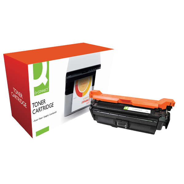 Q-Connect Compatible Solution CE260X Black Toner Cartridge High Capacity CE260X