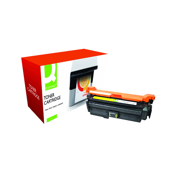 Q-Connect Compatible Solution HP 648A Yellow Laserjet Toner Cartridge CE262A